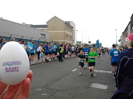 Belfast city marathona